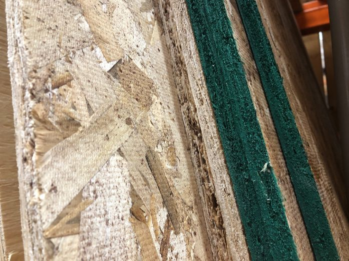 oriented strand board plywood