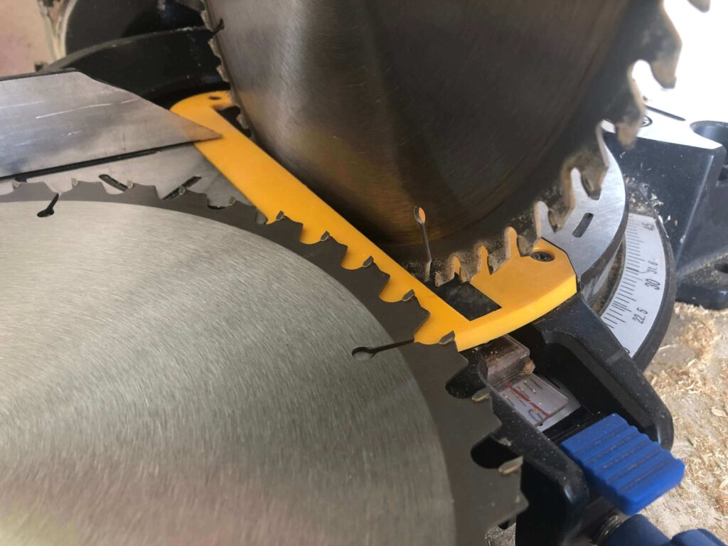 60 vs 80 tooth miter saw blade makes a difference