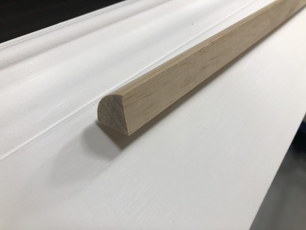 cutting quarter round without a miter saw