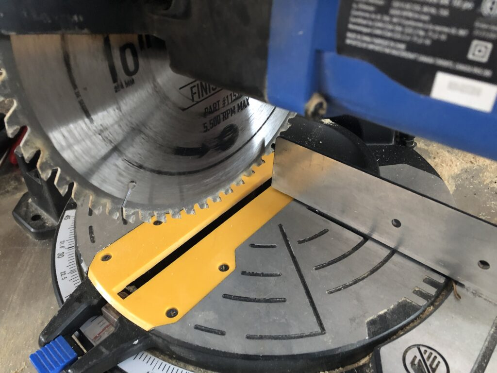 A miter saw stands universal